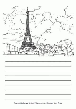 New Gamis Eiffel Wolfis Monalisa story paper
