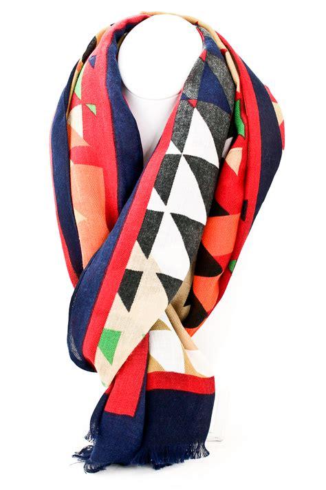 Multi Scarf multi colored fringe scarf scarves