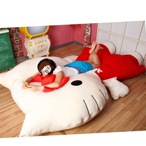 hello kitty bed kawaii bedrooms bedroom bed hello kitty chair pillows