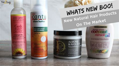 Whats New With Natural Hair | whats new boo new natural hair products on the market