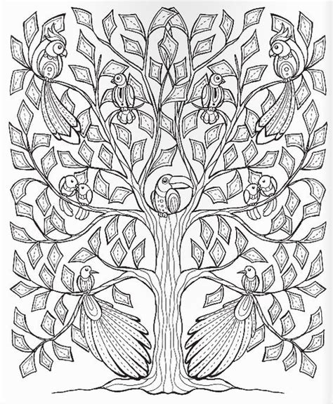 coloring pages for adults leaves 17 best images about adult colouring trees leaves