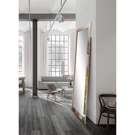 chrome floor mirror ourcozycatcottage