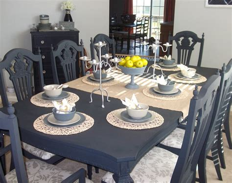 chalk paint dining room table chalk paint for furniture fabulous look trend