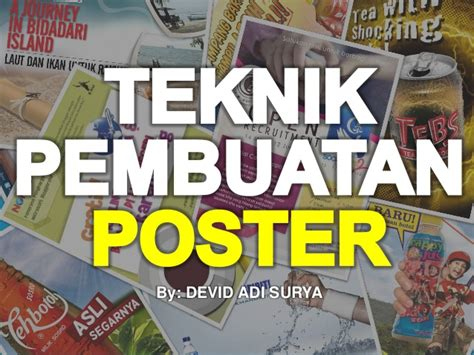 cara membuat poster open recruitment teknik membuat poster