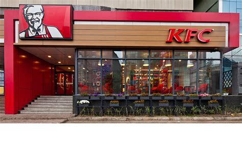 kfc store layout design obllique