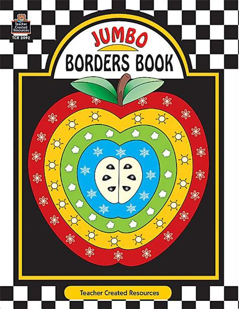 Borders Books Gift Card - jumbo borders book tcr2092 teacher created resources