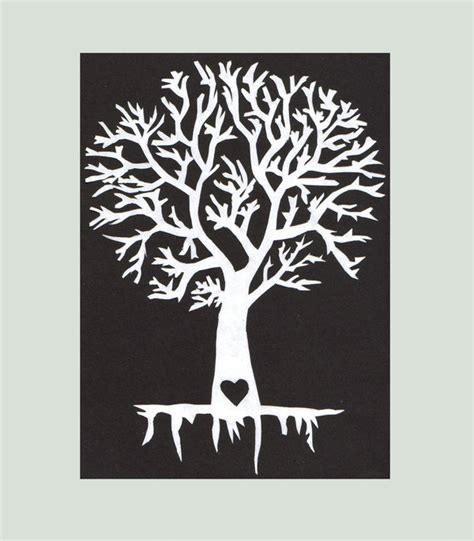 paper cut tree template tree paper cut by romancedwithwhispers on deviantart