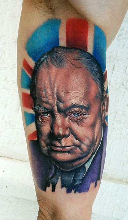 winston churchill tattoo winston churchill by tat2istcecil on deviantart