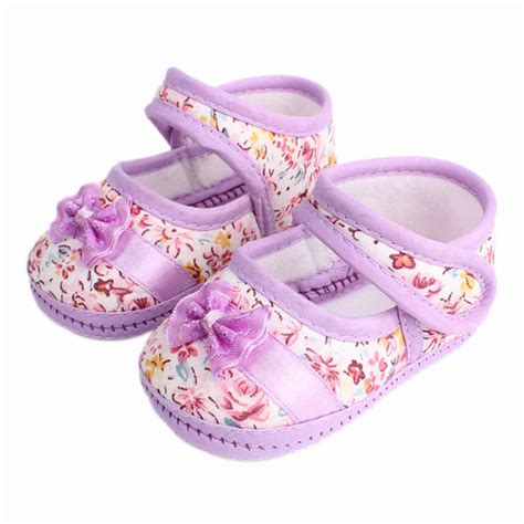baby shoes size 2 baby flowers bow baby toddler shoes children