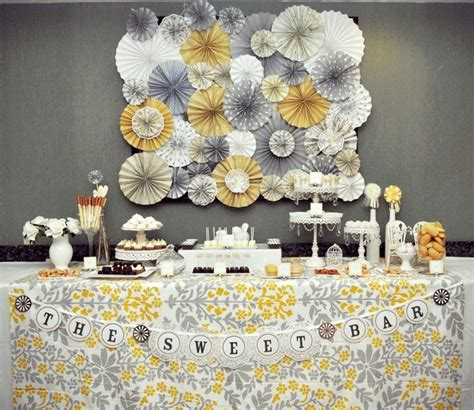 Yellow And Grey Decorations by Real Weddings And Wedding Inspiration Ideas Yellow And