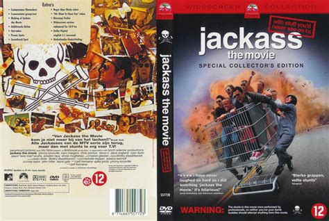 Jackass 2 5 2007 Full Movie Jackass 25 2007 Dutch Dvd Front Cover Id75555 Covers Resource