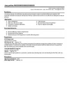 sle resume for client service associate ubs job search client service associate resume exle ubs financial