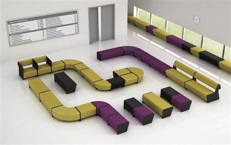 two sided module sofa magnitude office reality low modular bench seating magnitude office reality