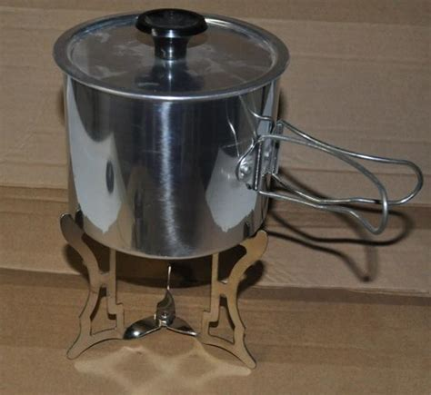 Backpack Pot Stand by Sterno Cook Pot And Stand Backpacking Light