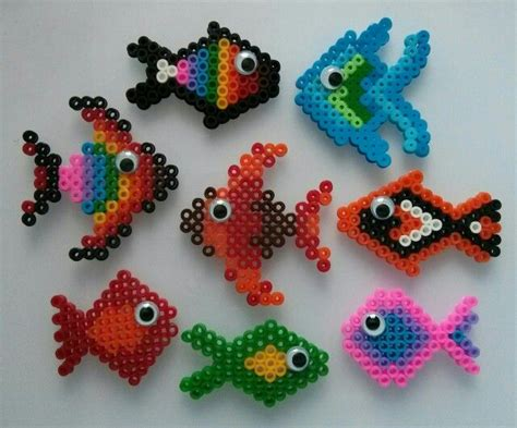 fish perler bead designs hama bead fish perler fish