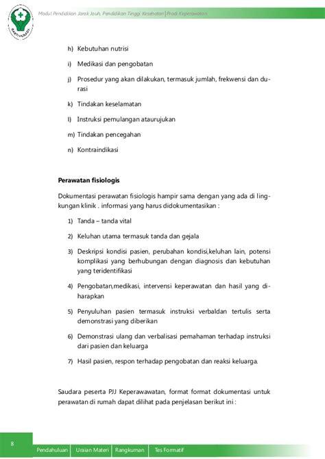 format asuhan keperawatan umum dokumentasi keperawatan pada tatanan pelayanan kesehetan