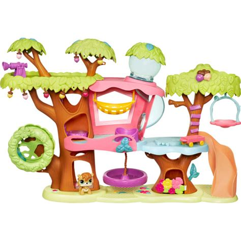 Littlest Pet Shop Tree House Walmart Com