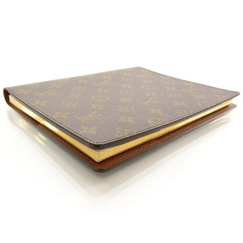 Cover Desk by Louis Vuitton Monogram Desk Agenda Cover W Notebook 36457