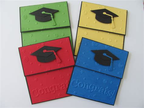Graduation Cap Gift Card Holder - graduation gift card holder money card cap stars