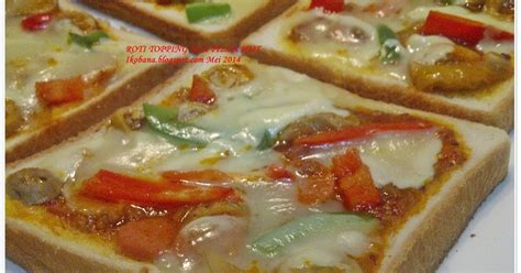 membuat roti pizza hut dapur ikobana roti topping ala pizza hut