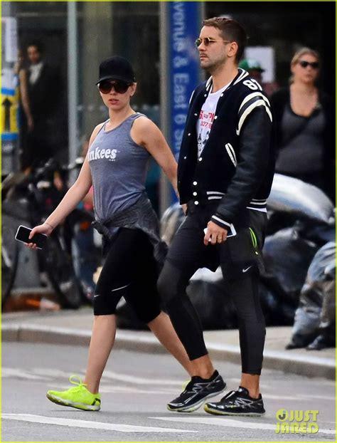 Scarlett Johansson Works On Her Fitness with Her Hubby ... Jared Leto And Scarlett Johansson Break Up
