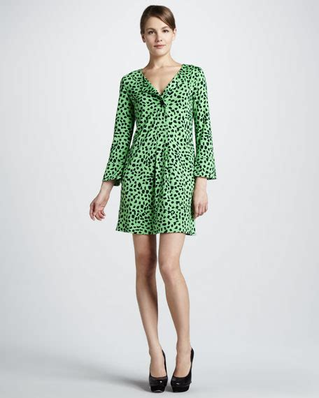 Gaby Dress diane furstenberg gaby printed sleeve dress