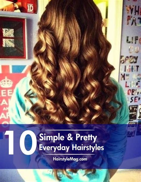 simple hairstyles for everyday videos download 10 simple pretty hairstyles perfect for everyday