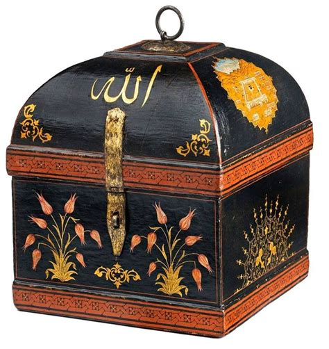 ottoman empire 19th century an ottoman wooden chest 19th century bir osmanlı ahşap