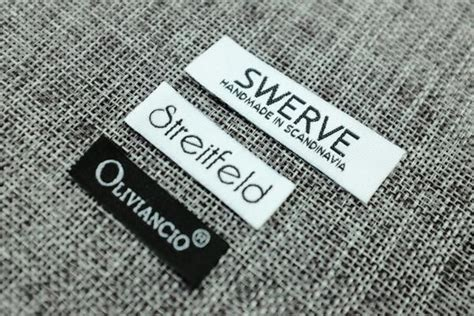 1200 Custom Text Only Custom Clothing Woven Label Worldwidelabel Woven Label Template