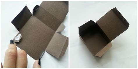 how to make a simple gift box diy simple gift box 183 how to make a papercraft