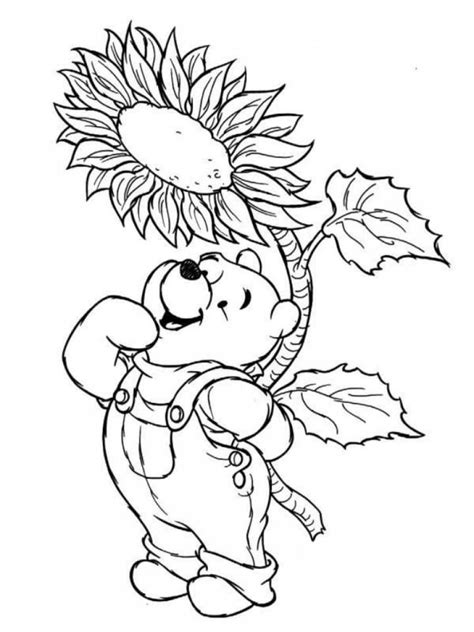 spring bear coloring pages disney springtime coloring pages coloring home