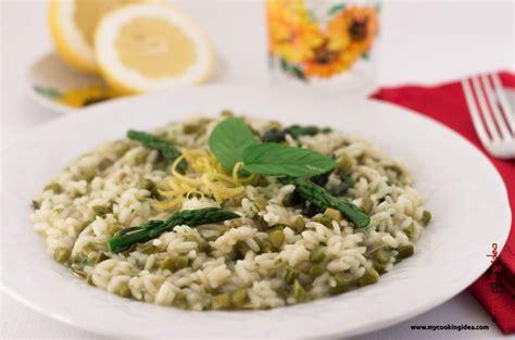 riso come cucinarlo risotto agli asparagi selvatici come cucinarlo ricette