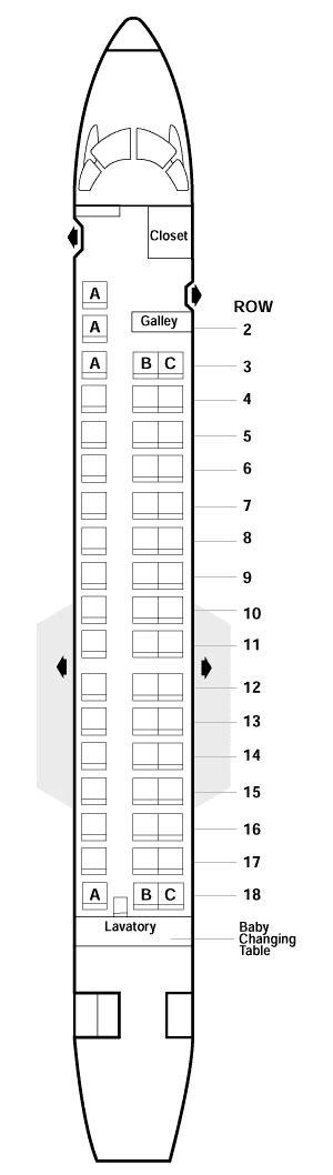 erj 145 seating erj 135 seating gallery