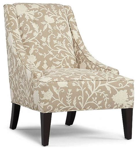 martha stewart fabric living room chair lansdale accent contemporary armchairs  accent