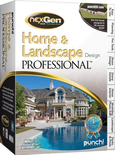 Punch Home Landscape Design Suite With Nexgen Technology Review by 8 Best Programs I Want Images On Computers