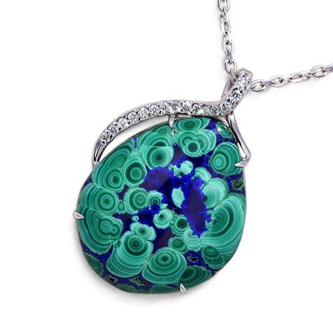 from jewelry malachite azurite necklace jewelry designs