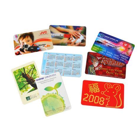 Calendar Cards Highsmart Pvc Card Calendar Card