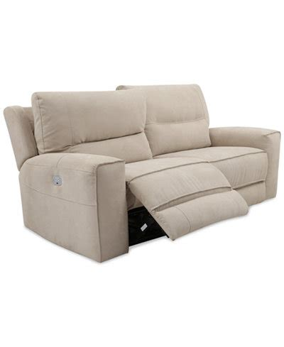 couch with outlet genella power reclining sofa with power headrest and usb