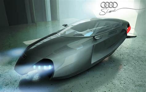 futuristic flying cars audi shark flying concept vehicle
