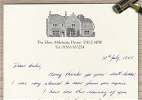 headed writing paper the pen and ink company bespoke cards and stationery