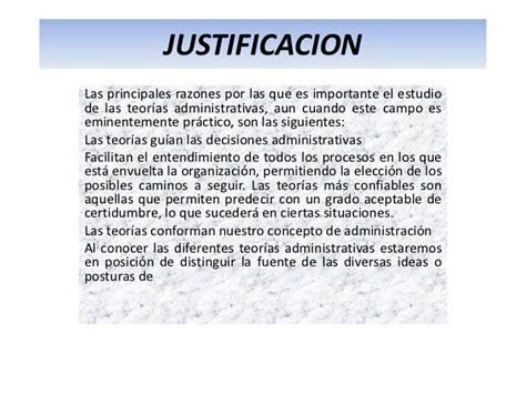 ejemplos de justificacion justificacion