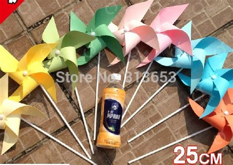 Garden Decoration Items by 100pcs Diy Graffiti Windmill Birthday