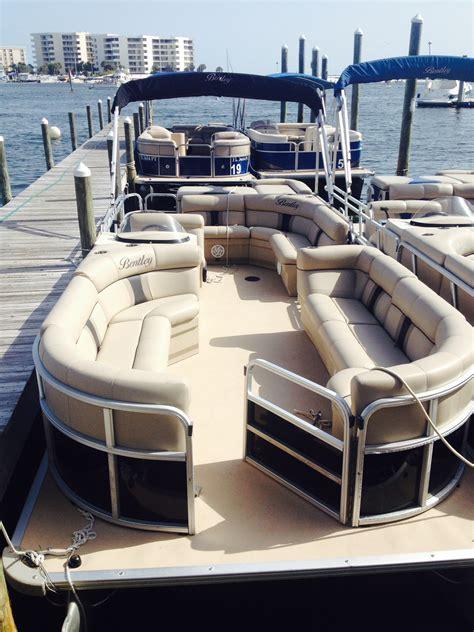 pontoon boat rental wildwood destin pontoon rentals