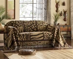 Seventh Avenue Home Decor | safari furniture throw sofa from seventh avenue