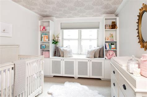 nursery wallpaper grey and white chic gray nursery 2014 hgtv