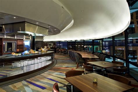 polaris room atlanta shortlisted the johnson studio for the restaurant within a hotel award global the design