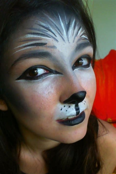 werewolf costume tutorial animal halloween makeup ideas animal makeup wolf and earth