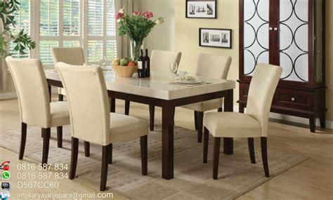 Set Makan Bahan Melamin Kode 6367 set meja makan sofa 6 kursi ini di buat dari bahan kayu jati tpk perhutani karya jati jepara