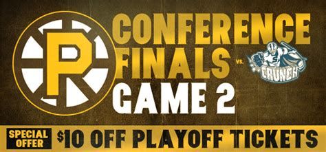 providence bruins playoffs conference finals 2 vs