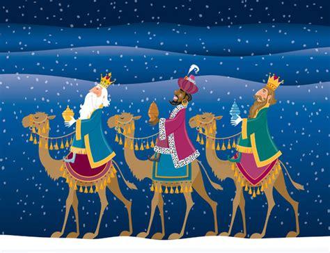 fotos reyes magos en camellos los reyes magos peque lopez